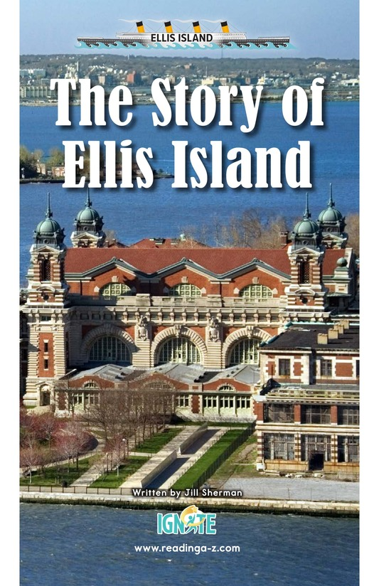 Book Preview For The Story of Ellis Island Page 0
