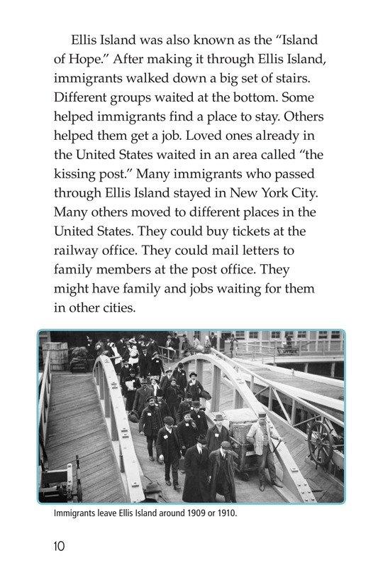 Book Preview For The Story of Ellis Island Page 10