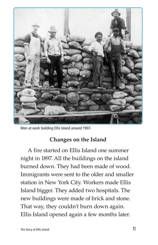 Book Preview For The Story of Ellis Island Page 11