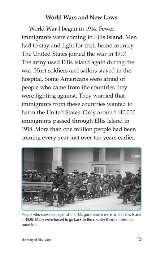 Book Preview For The Story of Ellis Island Page 13