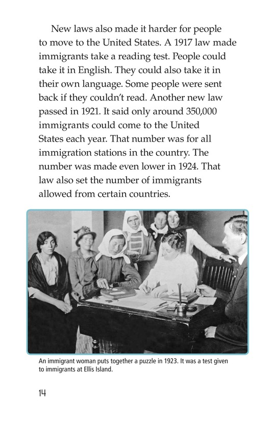 Book Preview For The Story of Ellis Island Page 14