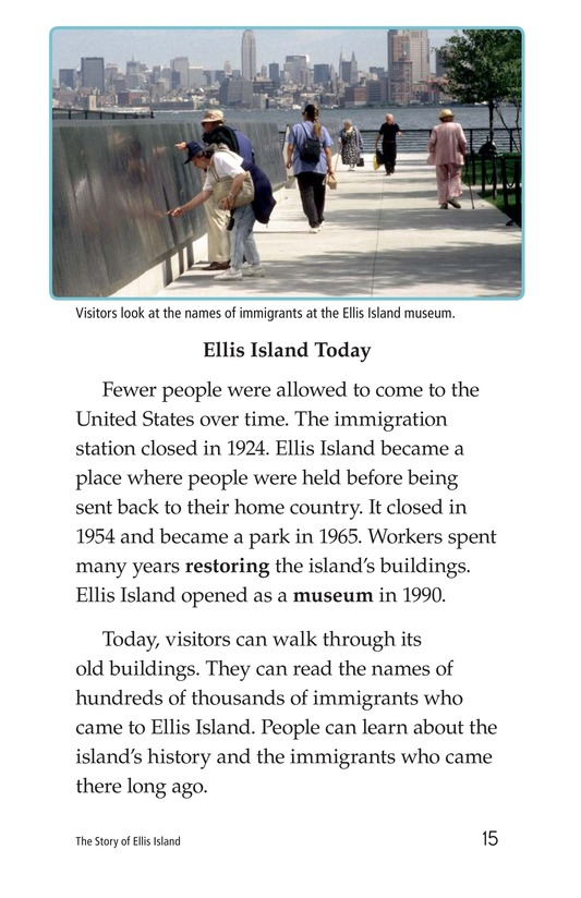 Book Preview For The Story of Ellis Island Page 15