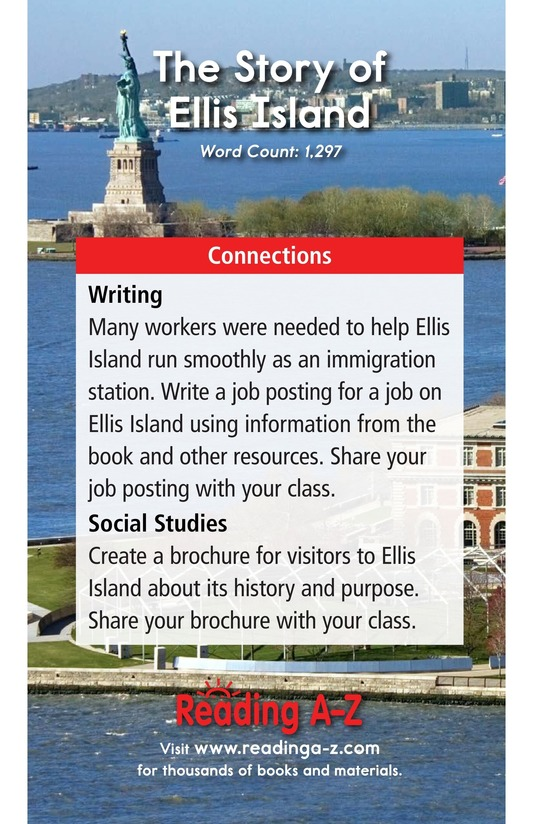 Book Preview For The Story of Ellis Island Page 17