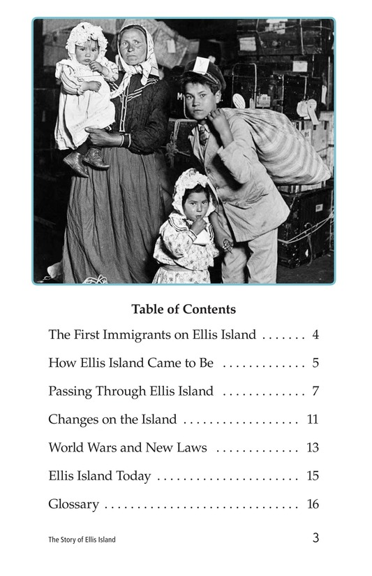 Book Preview For The Story of Ellis Island Page 3