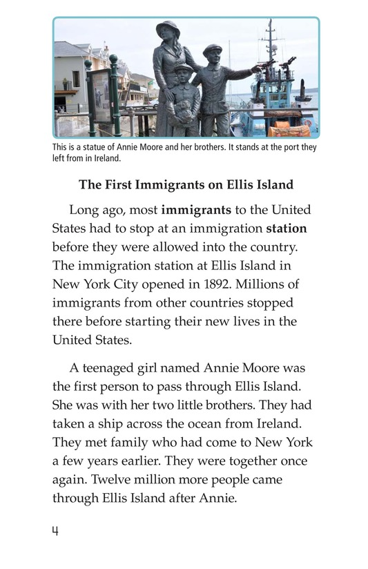 Book Preview For The Story of Ellis Island Page 4