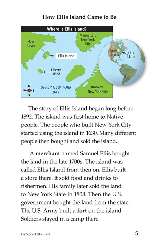 Book Preview For The Story of Ellis Island Page 5