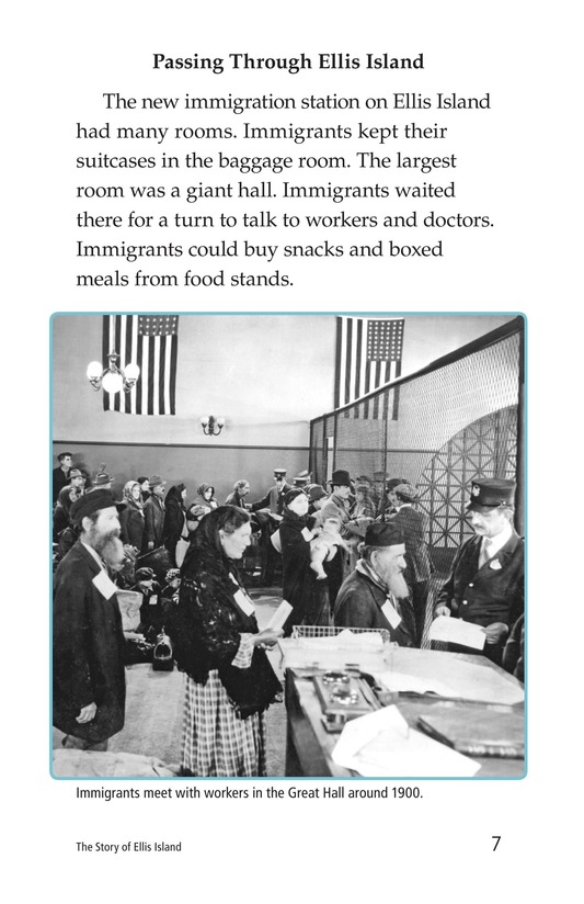 Book Preview For The Story of Ellis Island Page 7