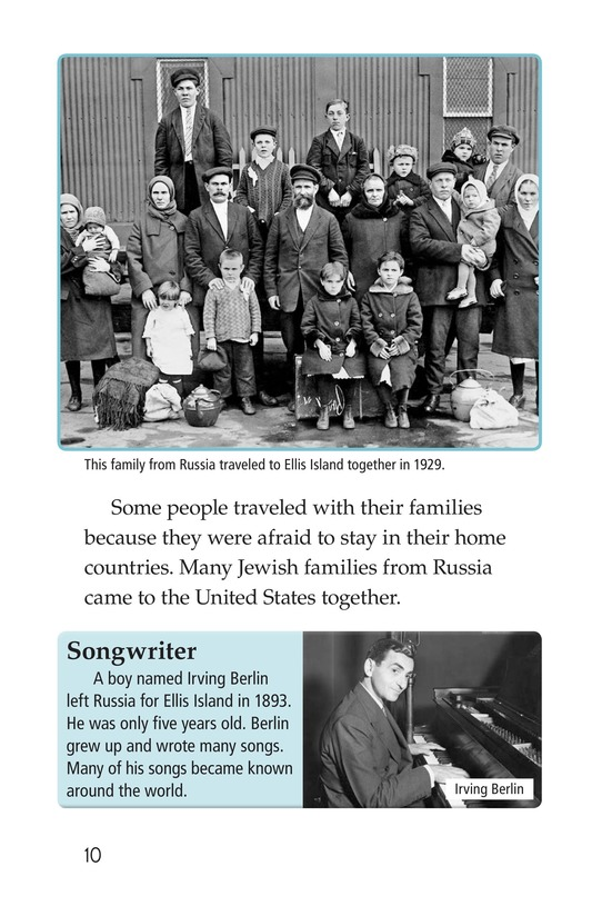 Book Preview For Leaving Home for Ellis Island Page 10