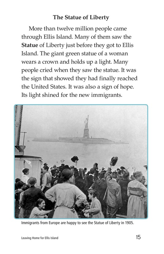 Book Preview For Leaving Home for Ellis Island Page 15