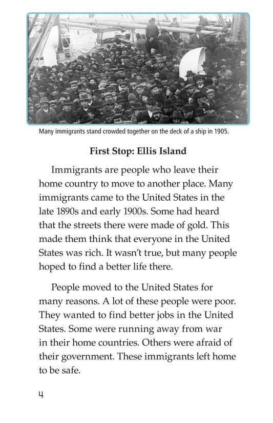 Book Preview For Leaving Home for Ellis Island Page 4