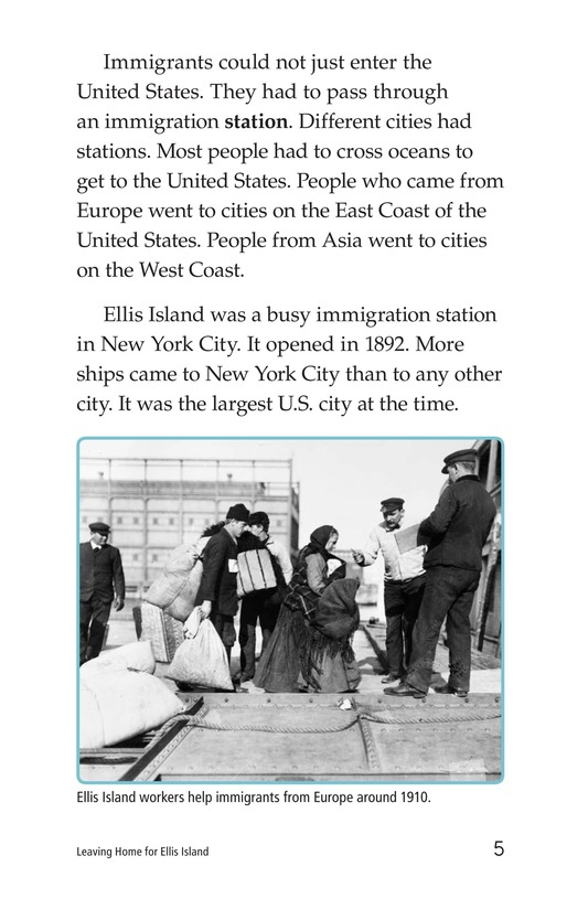 Book Preview For Leaving Home for Ellis Island Page 5