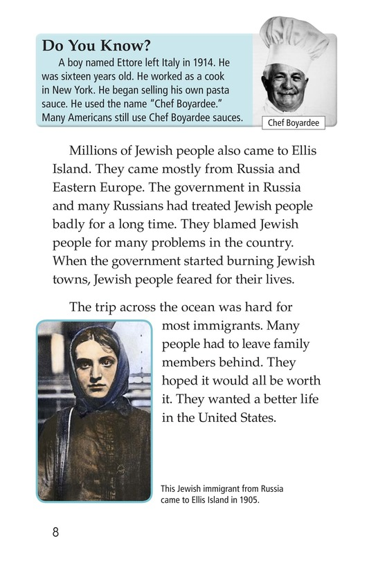 Book Preview For Leaving Home for Ellis Island Page 8