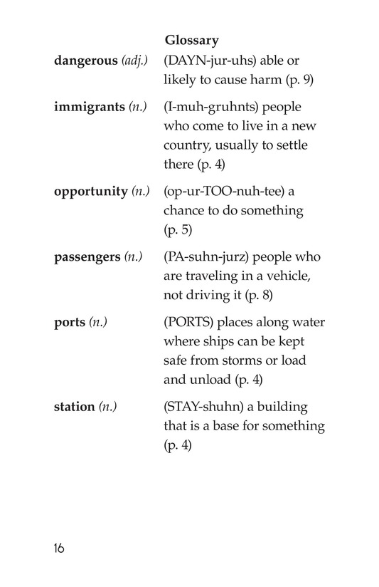 Book Preview For A New Start: Passing Through Ellis Island Page 16