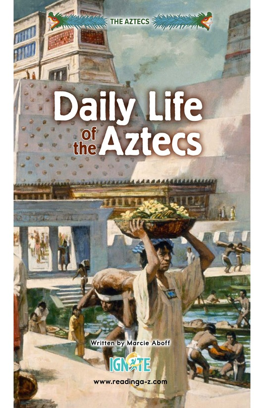 Book Preview For Daily Life of the Aztecs Page 0