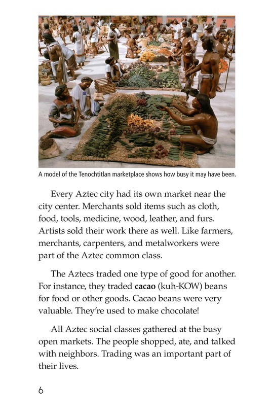 Book Preview For Daily Life of the Aztecs Page 6