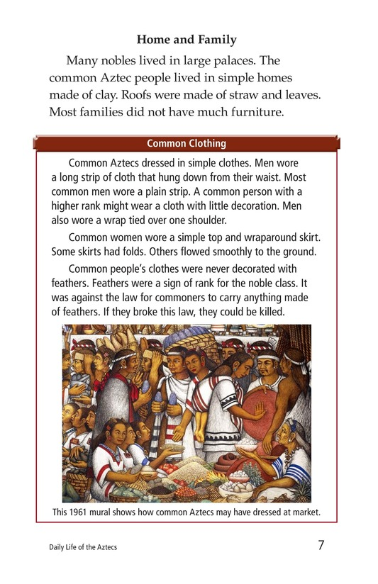 Book Preview For Daily Life of the Aztecs Page 7