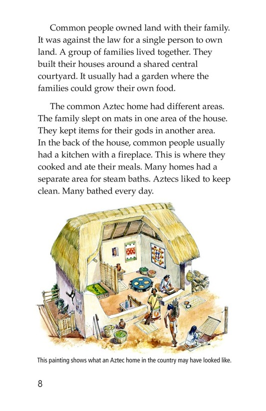 Book Preview For Daily Life of the Aztecs Page 8