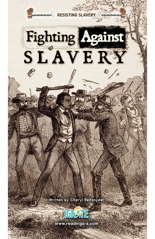 Book Preview For Fighting Against Slavery Page 0