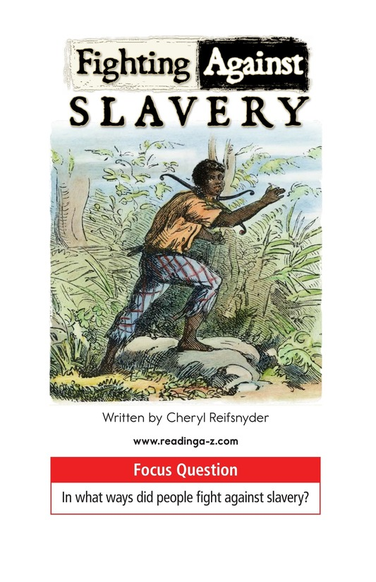 Book Preview For Fighting Against Slavery Page 1