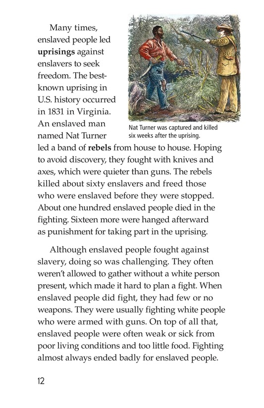 Book Preview For Fighting Against Slavery Page 12