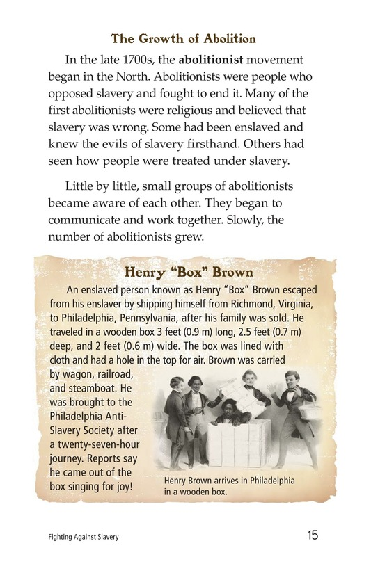 Book Preview For Fighting Against Slavery Page 15