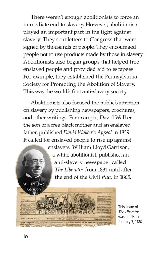 Book Preview For Fighting Against Slavery Page 16