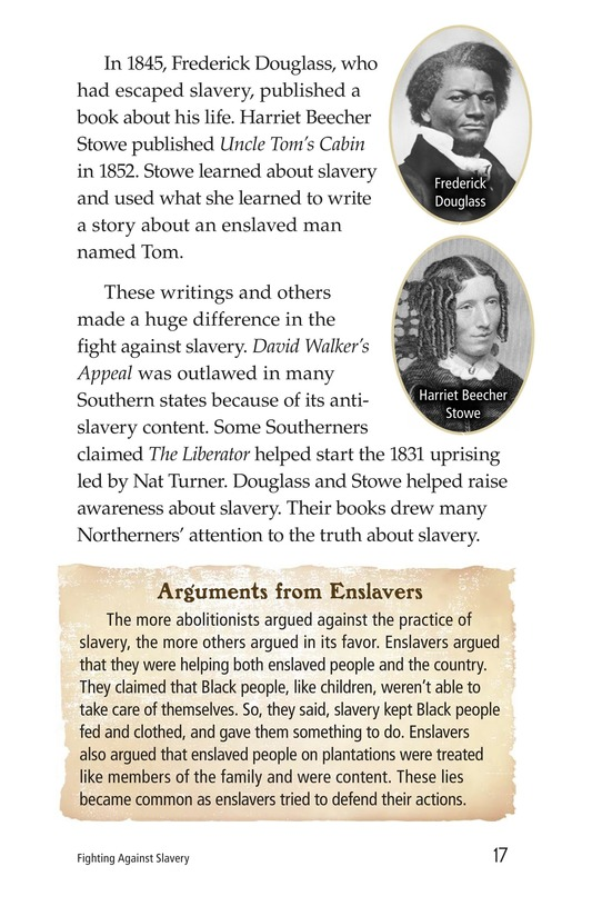 Book Preview For Fighting Against Slavery Page 17