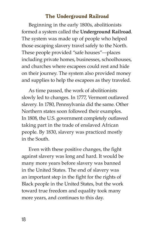 Book Preview For Fighting Against Slavery Page 18