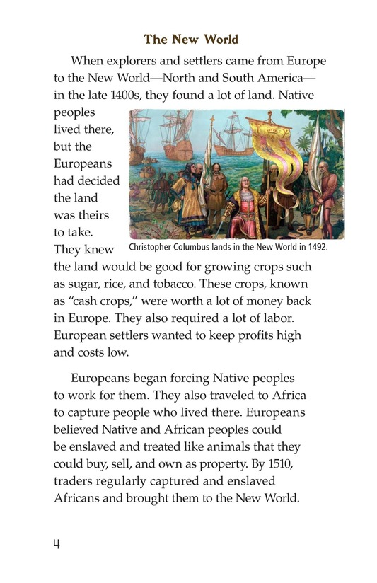 Book Preview For Fighting Against Slavery Page 4