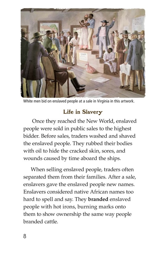 Book Preview For Fighting Against Slavery Page 8