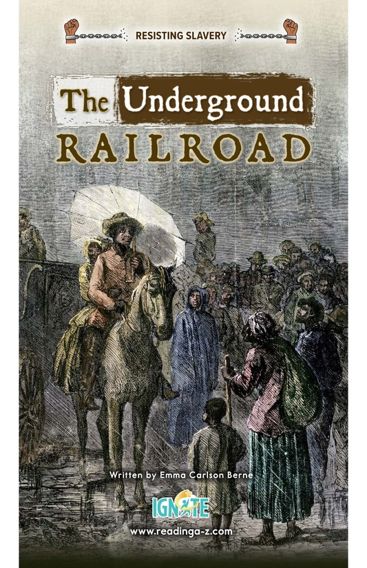 Book Preview For The Underground Railroad Page 0