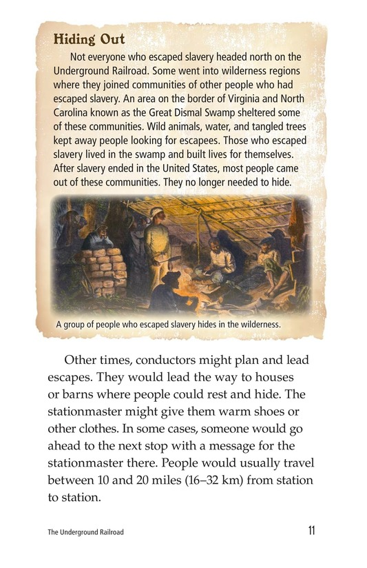 Book Preview For The Underground Railroad Page 11
