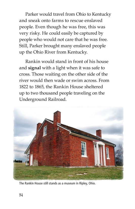 Book Preview For The Underground Railroad Page 14