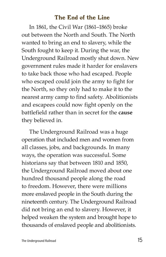 Book Preview For The Underground Railroad Page 15