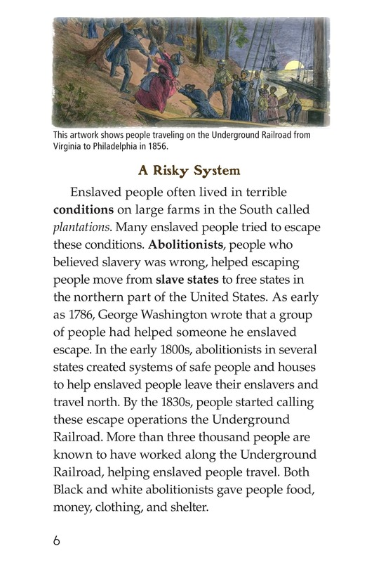 Book Preview For The Underground Railroad Page 6