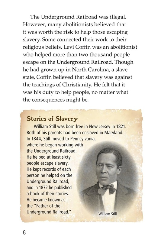 Book Preview For The Underground Railroad Page 8
