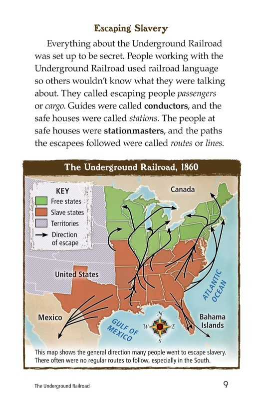Book Preview For The Underground Railroad Page 9