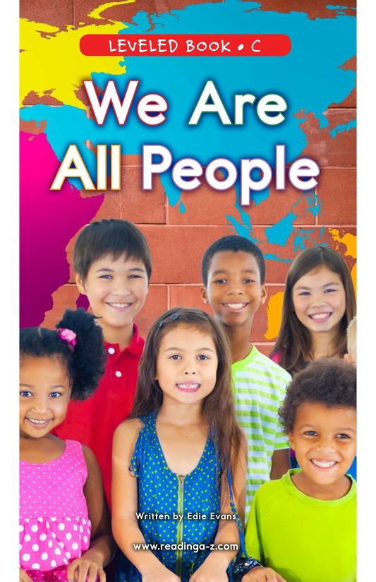 Book Preview For We Are All People Page 0