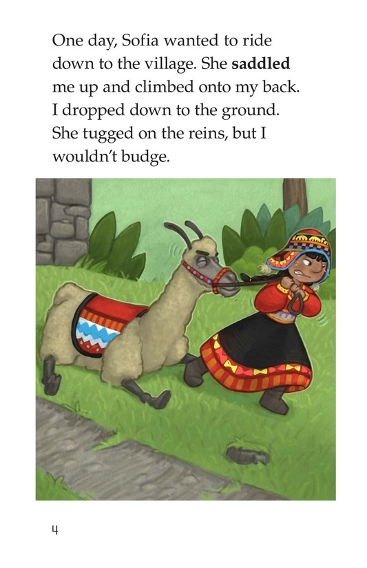 Book Preview For Lola the Llama Page 4