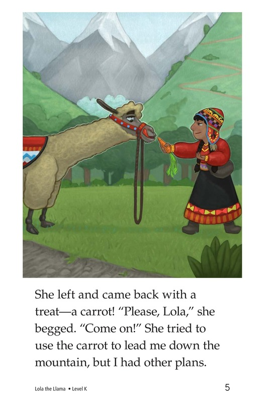 Book Preview For Lola the Llama Page 5