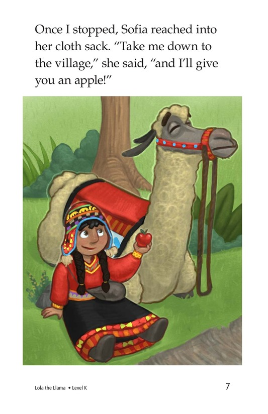 Book Preview For Lola the Llama Page 7