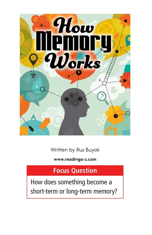 Book Preview For How Memory Works Page 1