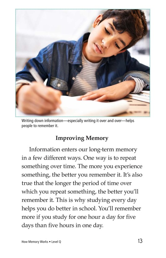 Book Preview For How Memory Works Page 13