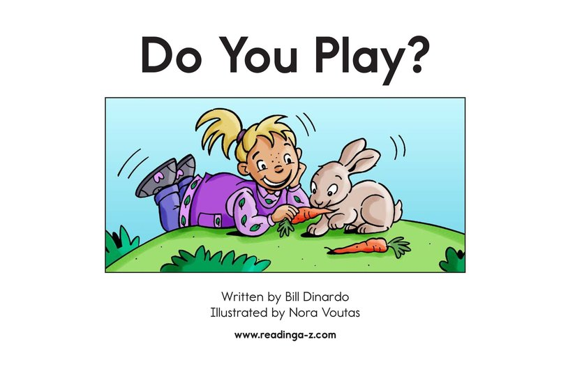 Book Preview For Do You Play? Page 2