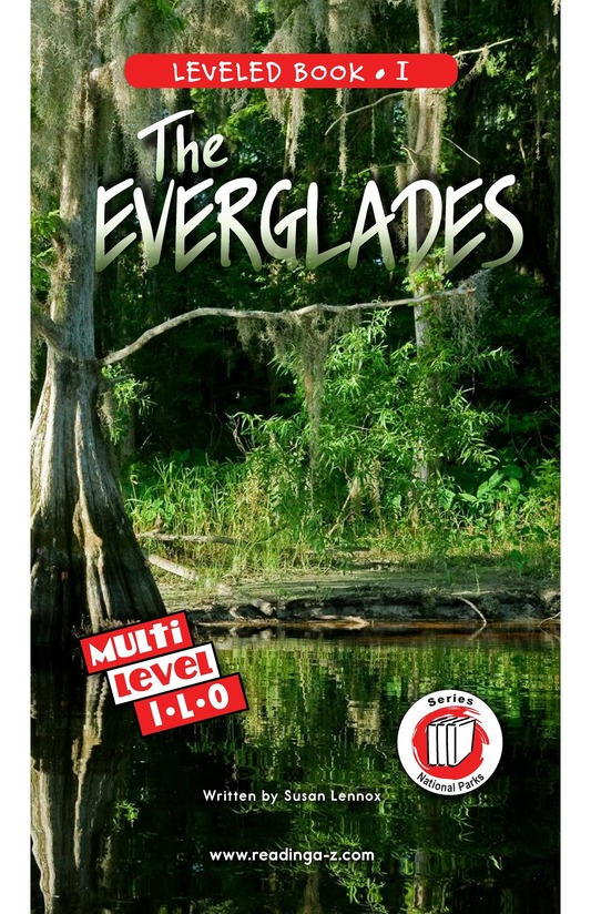 Book Preview For The Everglades Page 0