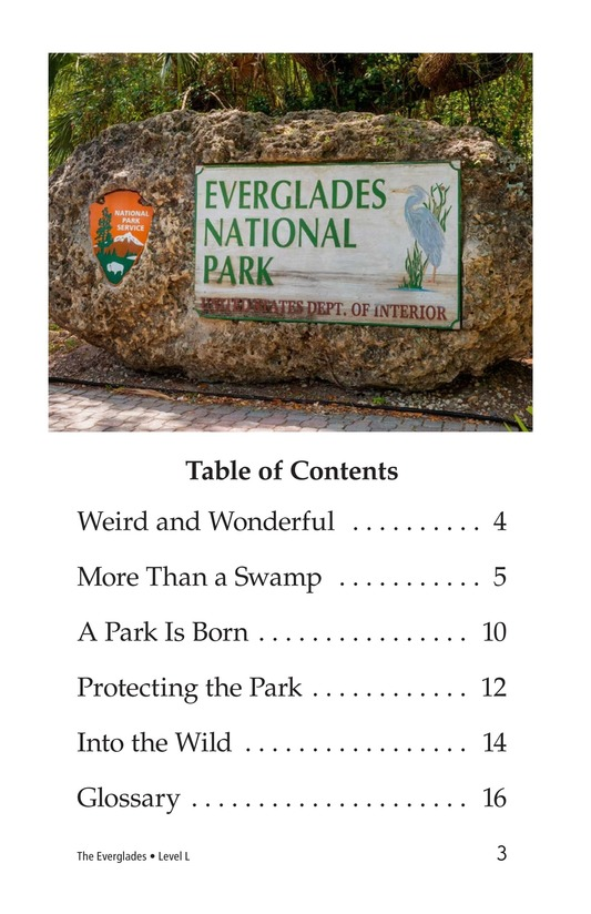 Book Preview For The Everglades Page 3