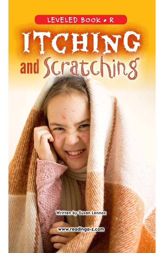 Book Preview For Itching and Scratching Page 0