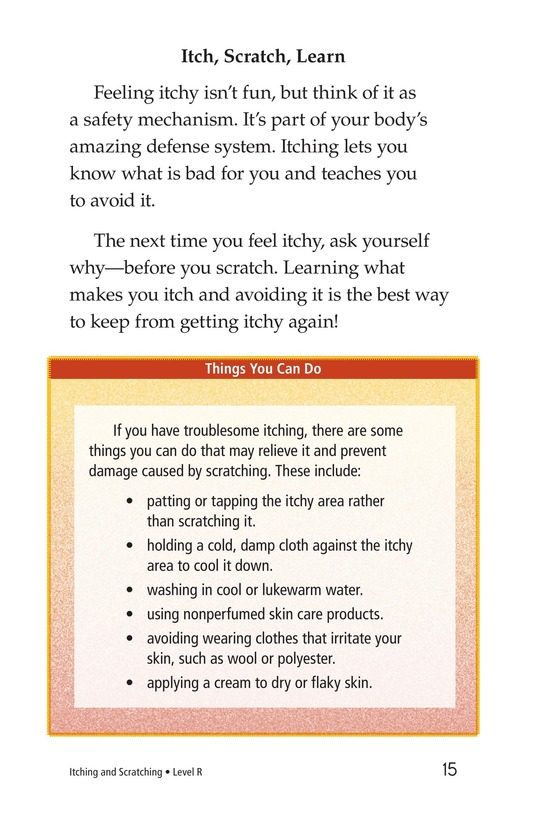 Book Preview For Itching and Scratching Page 15