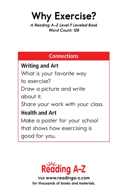 Book Preview For Why Exercise? Page 13