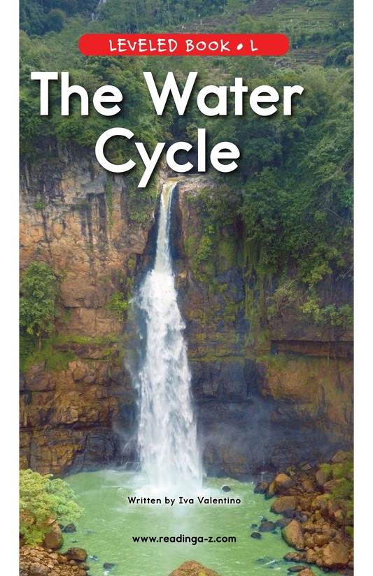 Book Preview For The Water Cycle Page 0